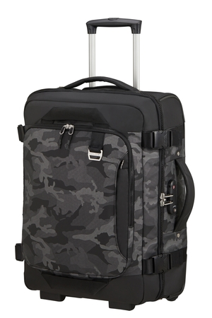 SAMSONITE Cestovní taška na kolečkách 55/20 Midtown Cabin Camo Grey, 40 x 20 x 55 (133806/L403)