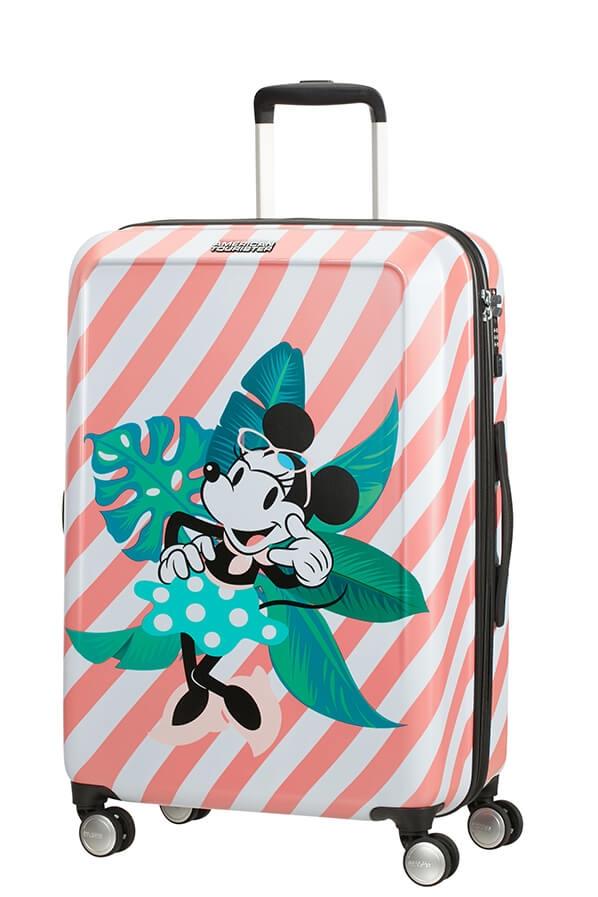 Levně AT Kufr Funlight Disney Spinner 67/26 Minnie Miami Holiday, 46 x 26 x 67 (122090/7922)