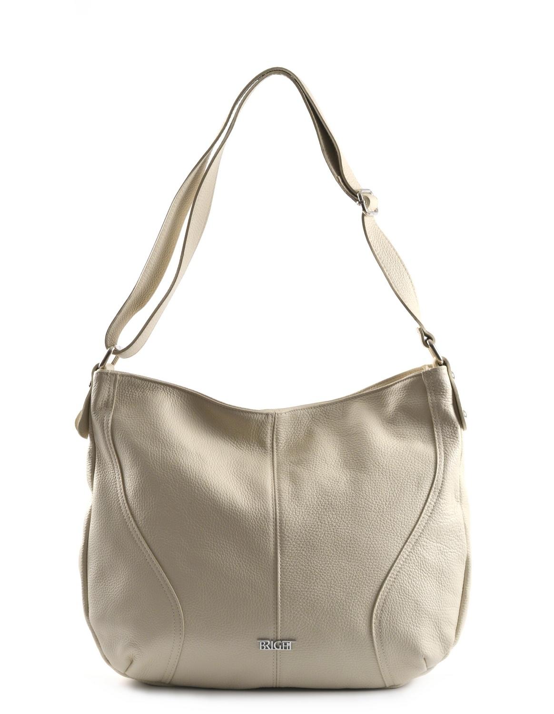 BRIGHT Dámská kabelka/vak A4 Béžová, 42 x 12 x 32 (BR19-LDJ4053-05DOL)