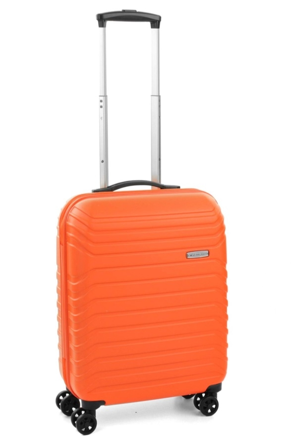 Roncato Fashion kufr Fusion 55/20 Spinner S Hard Oranžová