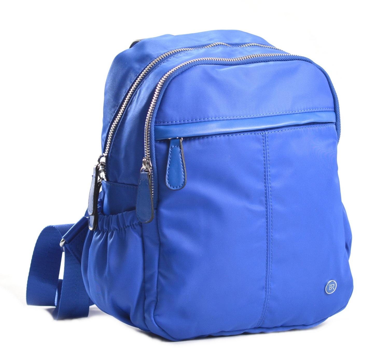 Bright Dámský batoh 2 zipy a bočními kapsami větší A5 královsky modrý