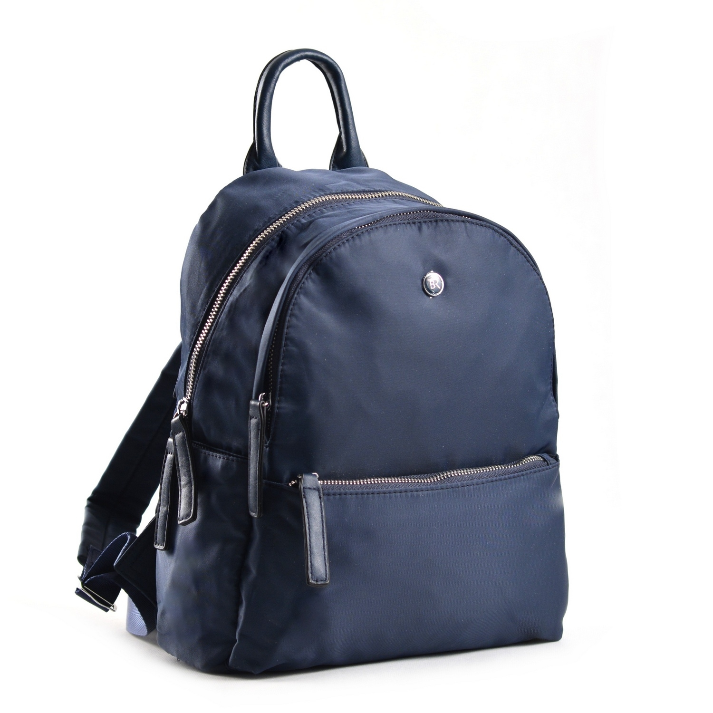 Bright Elegantní dámský batoh větší A5 vybavený tmavě modrý