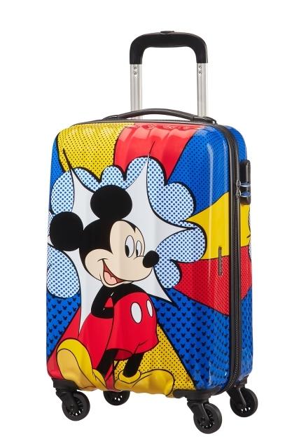 AT Kufr dětský Disney Legends 2.0 Spinner 55/20 Mickey flash