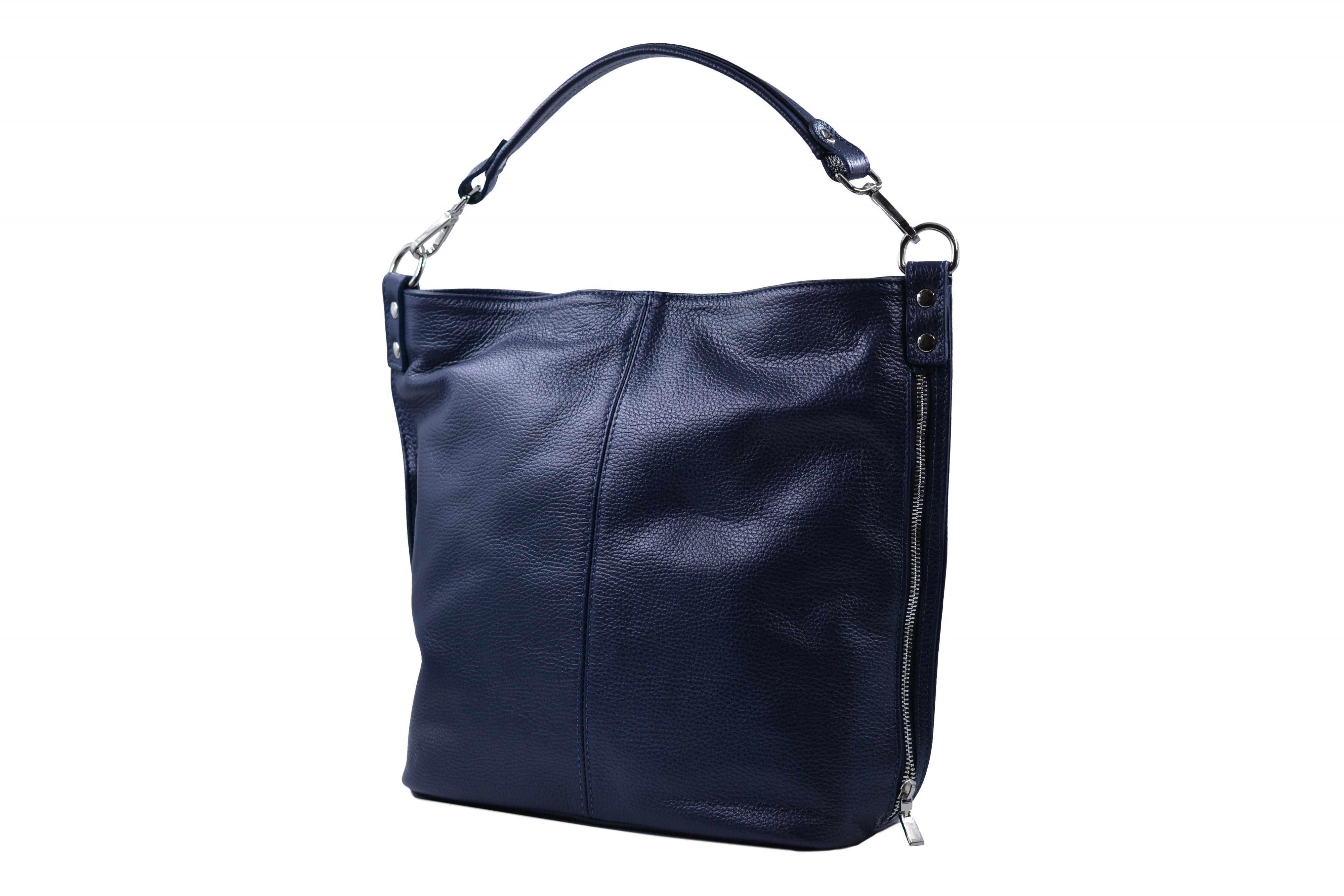 Levně Dámská kabelka A4 Tmavě modrá, 15 x 41 x 34 (XT00-LC4065-41DOL)