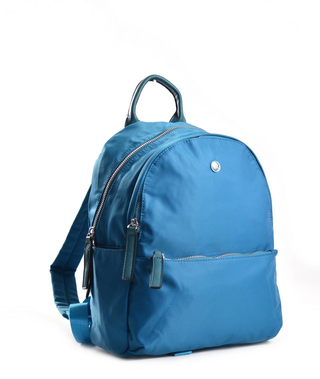 Bright Elegantní dámský batoh větší A5 vybavený tyrkysový
