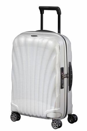 Levně SAMSONITE Kufr C-Lite Spinner 55/20 Cabin Off White, 55 x 20 x 40 (122859/1627)