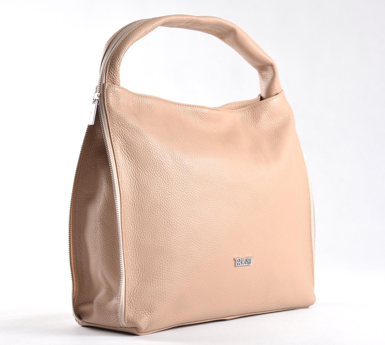 BRIGHT Dámská kabelka/vak A4 Starorůžová, 37 x 12 x 33 (BR17-LP2046-27DOL)