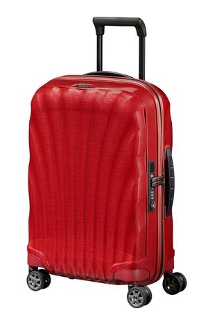 SAMSONITE Kufr C-Lite Spinner Expander USB 55/20 Cabin Chili Red, 55 x 20 x 40 (134679/1198)