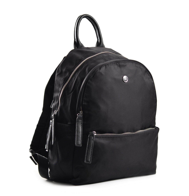 Bright Elegantní dámský batoh větší A5 vybavený černý