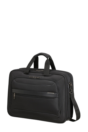 "SAMSONITE Taška na notebook 17,3"" Vectura Evo USB Black, 44 x 12 x 32 (123671/1041)"