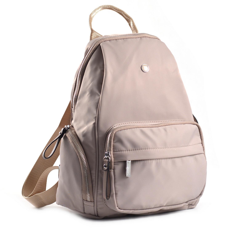Bright Dámský batoh s kapsami větší A5 vybavený béžový