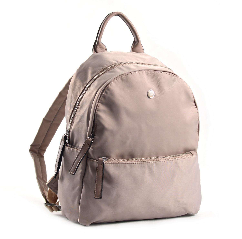 Bright Elegantní dámský batoh větší A5 vybavený béžový