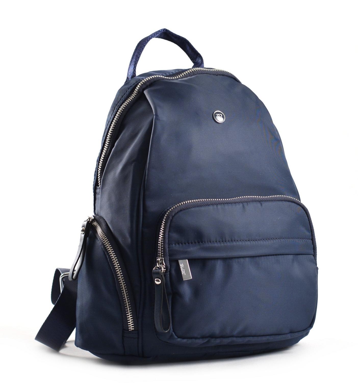 Bright Dámský batoh s kapsami větší A5 vybavený tmavě modrý