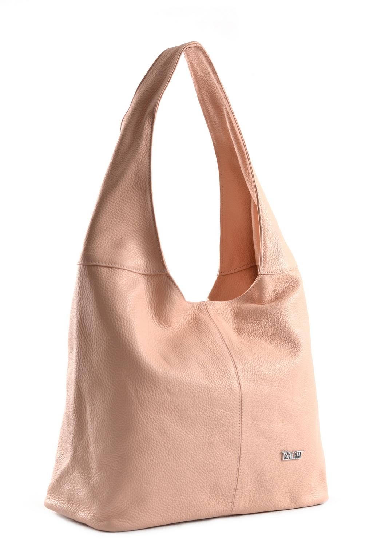 Bright fashion kabelka/vak kožená A4 růžová, 33 x 15 x 32 (BR18-AGJ4013-20DOL)
