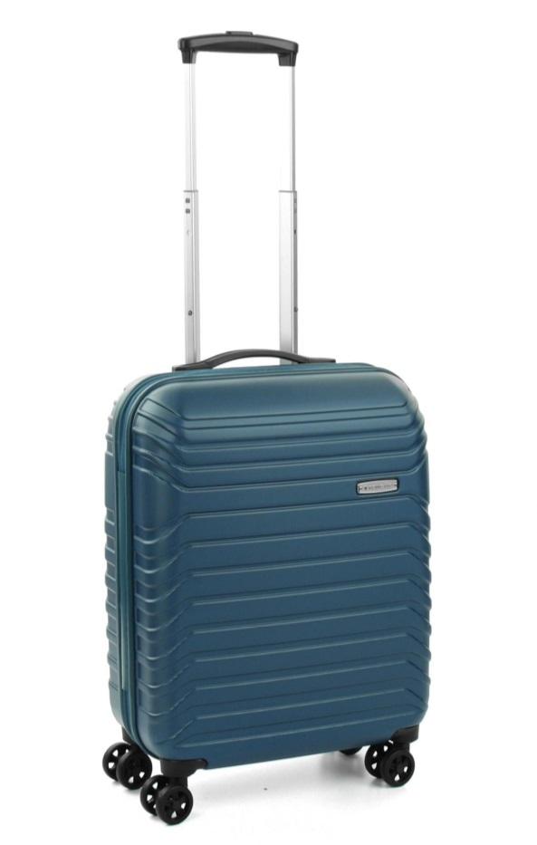 Roncato Fashion kufr Fusion 55/20 Spinner S Hard Modrá