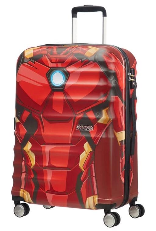 AT Kufr dětský Wavebreaker Marvel Spinner 77/29 Iron Man