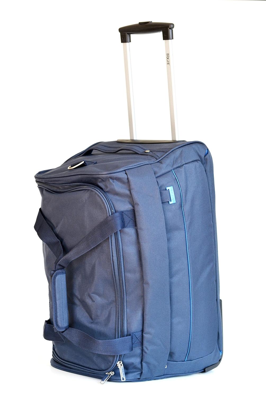 BRIGHT Cestovní taška na kolečkách 58/32 modrá, 34 x 32 x 58 (BR17-TN126-01TX)