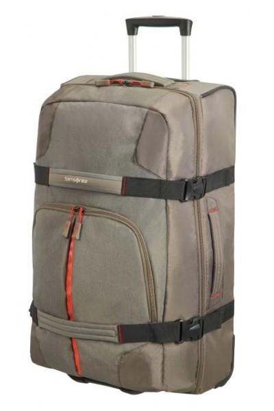 doprava zdarma SAMSONITE Cestovní taška na kolečkách Rewind Duffle with  wheels 68 25 taupe 34dad722cc