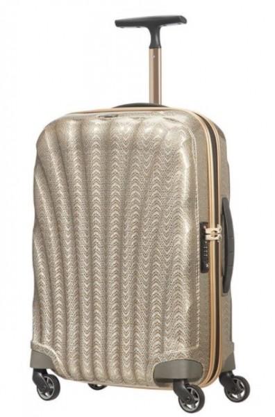 Samsonite Kufr Cosmolite 55/20 Spinner Cabin Silver/Gold Limited Edition