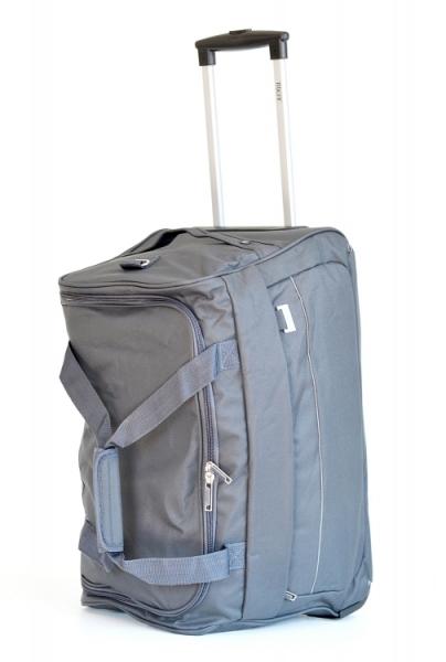BRIGHT Cestovní taška na kolečkách 58 32 šedá - BRIGHT Cestovní ... 43a24f2d69