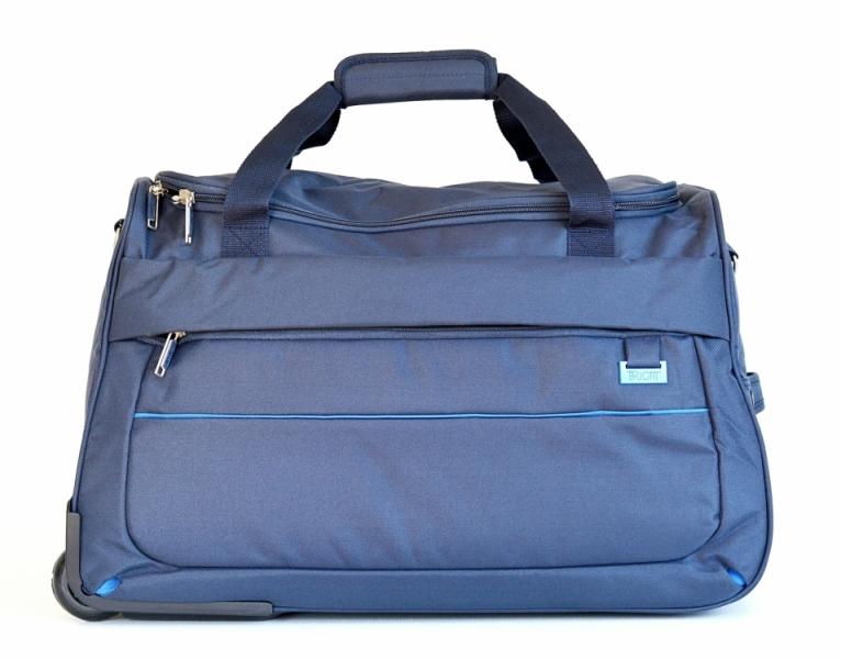 BRIGHT Cestovní taška na kolečkách Duffle with wheels 58 32 modrá ... f7721ed3dc