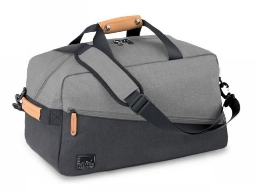 d223607a83e Roncato Cestovní taška - batoh Adventure Laptop backpack duffle soft Grigio