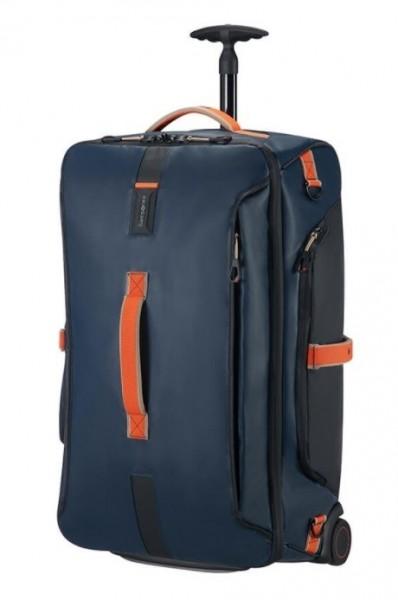 SAMSONITE Cestovní taška na kolečkách 67/24 Paradiver light Duffle with wheels Blue nights