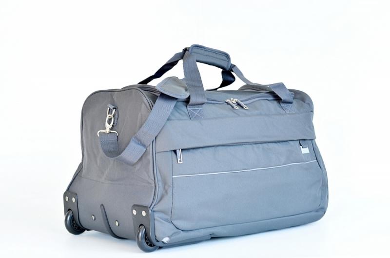 ... BRIGHT Cestovní taška na kolečkách Duffle with wheels 58 32 šedá ... 19a32ed1db
