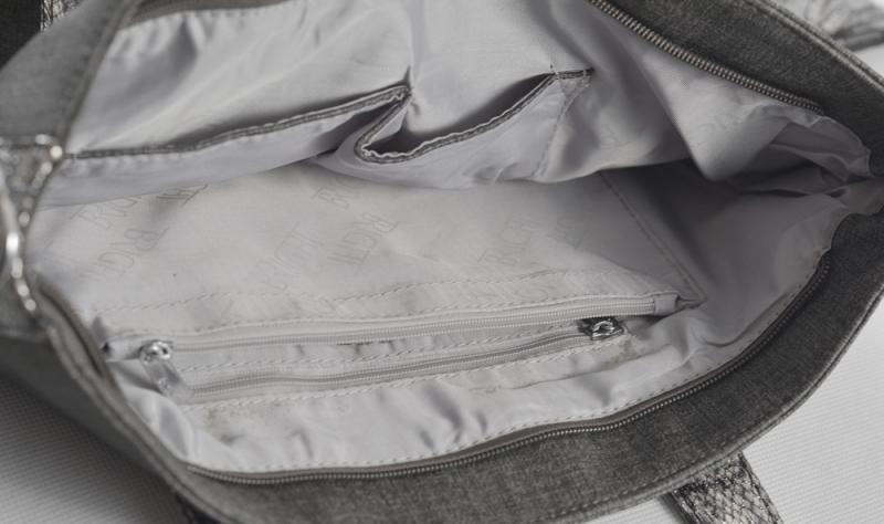 ... Bright Fashion kabelka A4 s hadím vzorem velká Shopping bag modrá 1ef7b140055