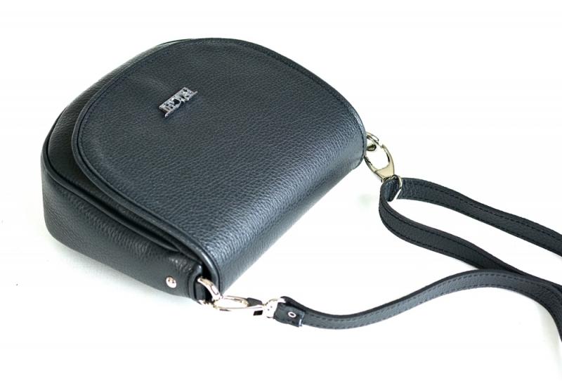 ... Bright Lovecká kabelka malá kožená s klopnou přes rameno růžová ... 4f6491c1b66