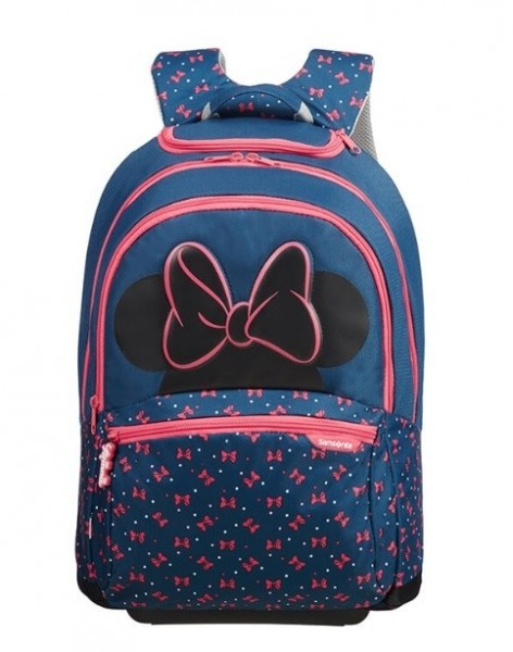 572a1459e43 ... SAMSONITE Batoh na 2 kolečkách dětský Disney Ultimate 2.0 Backpack with  wheels Minnie Neon ...