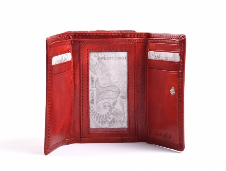 2f7339f8a65 ... hnědá · Dámská kožená peněženka na výšku menší se zipem na mince modrá