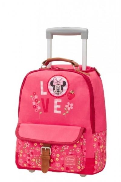 doprava zdarma SAMSONIE Batoh školní dětský na kolečkách Styles Disney  School trolley Minnie blossoms e84ff79e19