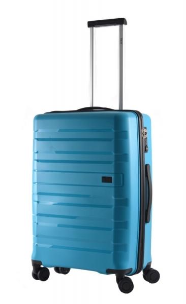 Bright Kufr Colours 66/25 Spinner M Hard TSA 4 kolečka Middle Blue
