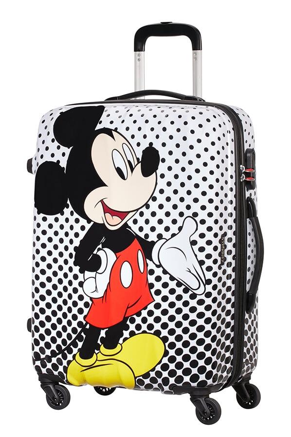 AT Kufr dětský Legends Disney Spinner 65/27 Mickey Mouse Polka Dot - AT Kufr  dětský Legends Disney Spinner 65/27 Mickey Mouse Polka Dot : DOMIbags.cz