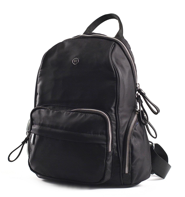 Bright Dámský batoh s kapsami větší A5 vybavený černý