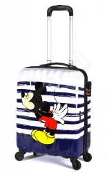 AMERICAN TOURISTER Kufr dětský Disney Legends 2.0 Spinner 55/20 Alfa Twist malý Mickey kiss