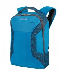 "American tourister Batoh na notebook 15,6"" Road quest laptop backpack látkový bluestar print"