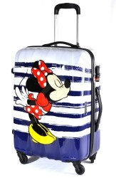 AMERICAN TOURISTER Kufr dětský Disney Legends 2.0 Spinner 55/20 Alfa Twist malý Minnie kiss