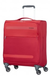 AMERICAN TOURISTER Kufr Herolite super light Spinner 56/25 (látka) soft Red