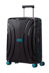 AMERICAN TOURISTER Kufr Lock´n´roll Spinner 55/20 hard na 4 kolečkách Cabin Night black