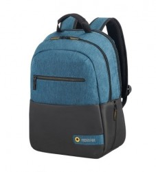 "AMERICAN TOURISTER Batoh na notebook 15,6"" City drift Laptop backpack vybavený black/blue"