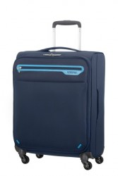 AMERICAN TOURISTER Kufr Lightway super light Spinner 67/24 střední látka soft Midnight navy