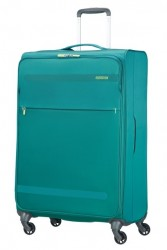 AMERICAN TOURISTER Kufr Herolite super light Spinner 74/29 (látka) velký soft Green