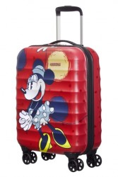 AMERICAN TOURISTER Palm Valley Disney Spinner 55/20 Minnie style malý hard na palubu
