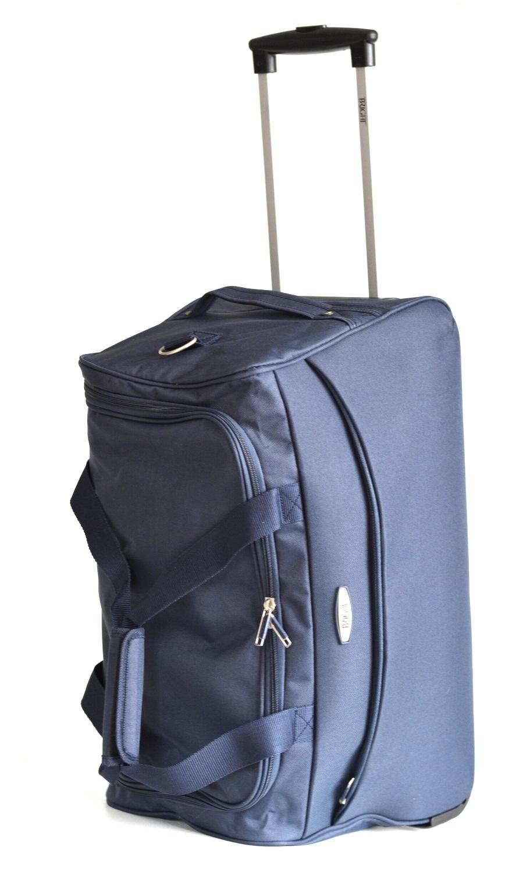 BRIGHT Cestovní taška na kolečkách Duffle wheels S 58/32 modrá, 32 x 32 x 58 (BR17-TN122-01TX)