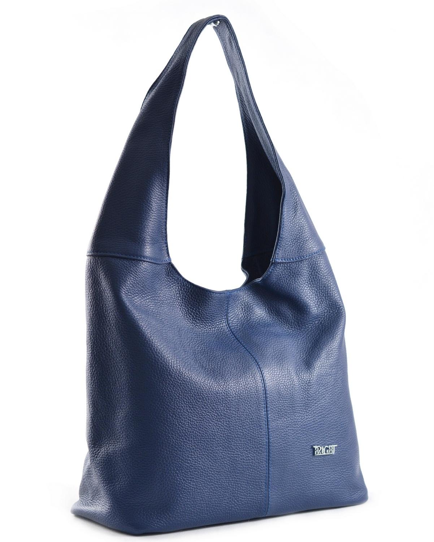 BRIGHT Dámská kabelka/vak A4 Modrá, 33 x 15 x 32 (BR18-AGJ4013-41DOL)
