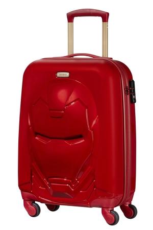 SAMSONITE Kufr dětský Disney Ultimate 2.0 Spinner 55/25 Iron Man Red, 39 x 26 x 55 (120747/7724)