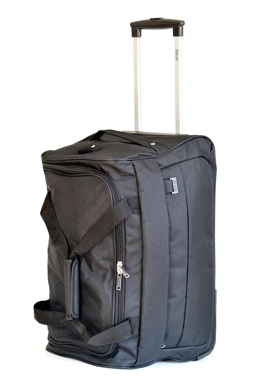 BRIGHT Cestovní taška na kolečkách 58/32 Černá, 34 x 32 x 58 (BR17-TN126-09TX)