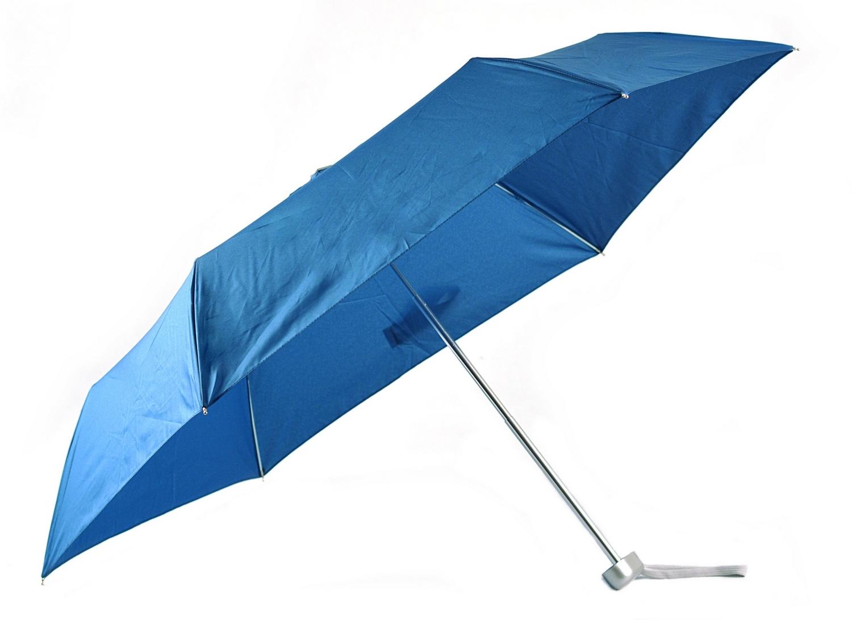 Levně BRIGHT Skládací mechanický deštník Modrý, 51 x 90 x 0 (BR18-US17-41TX)